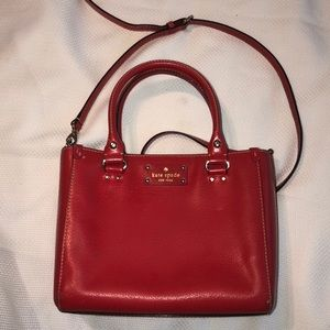 Kate Spade Leather w/ Removable Shoulder Strap